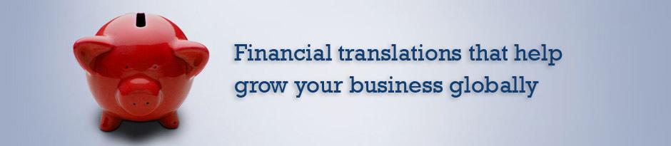 Finance Translations
